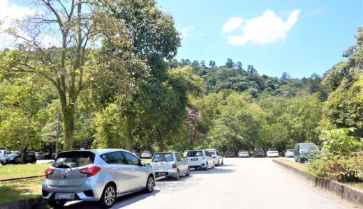 ワワサンヒルトレイルwawasan hill trailの駐車スペース
